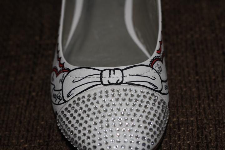 Svadobné a iné ručne maľované topánky - Obrázok č. 24