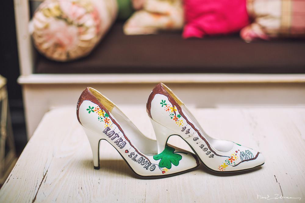 Svadobné a iné ručne maľované topánky - Obrázok č. 1