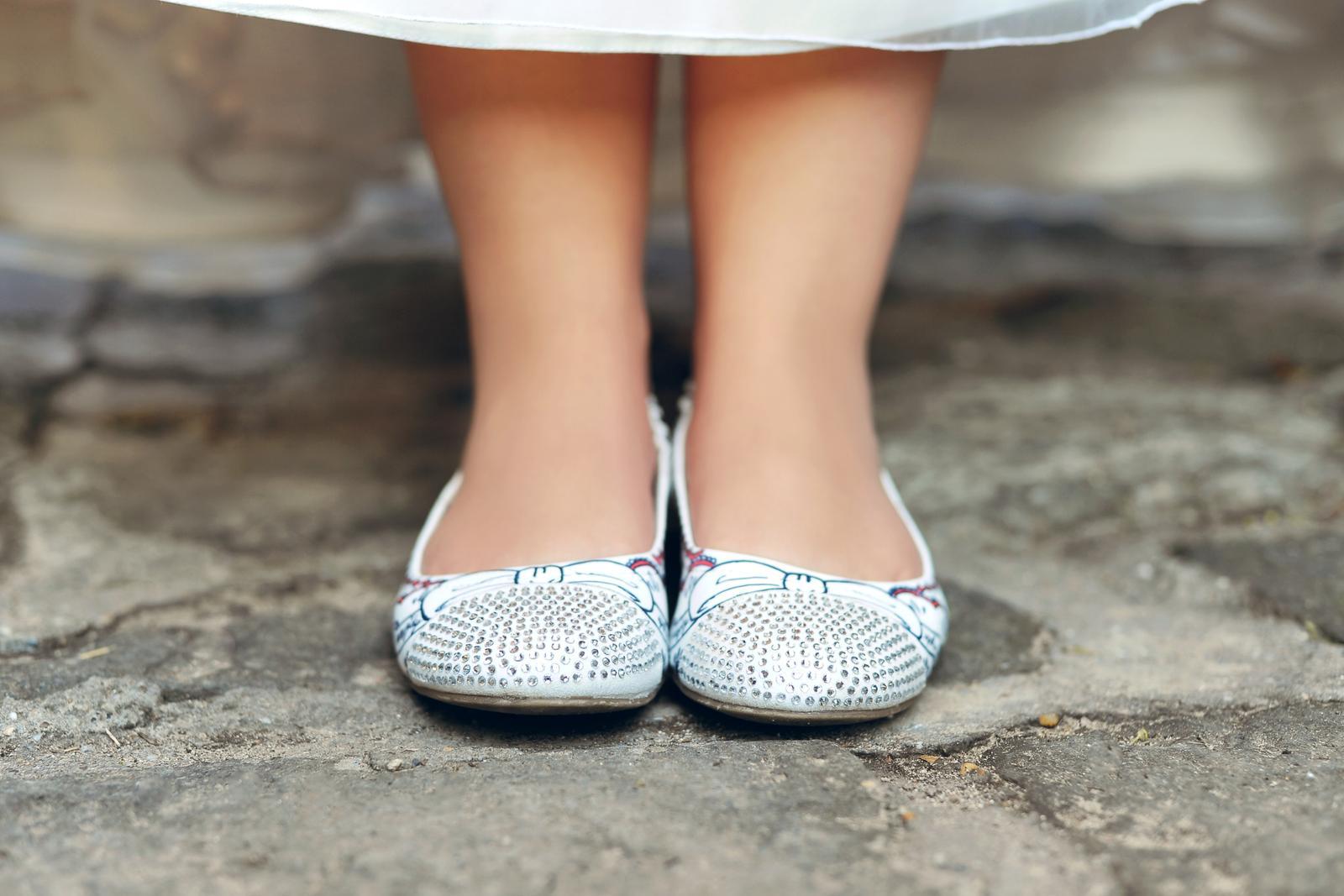 Svadobné a iné ručne maľované topánky - Obrázok č. 4