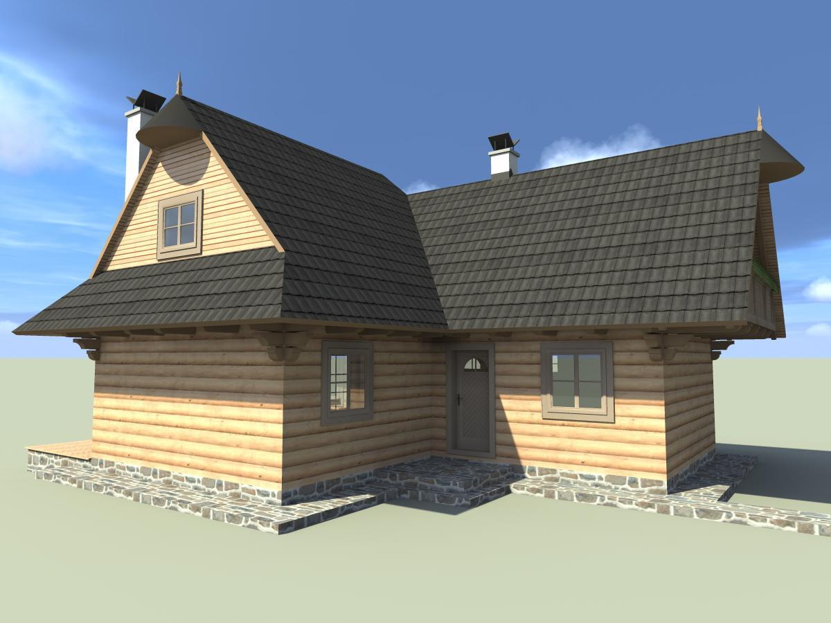 Náš veľký sen o drevenom domčeku! - Obrázok č. 2