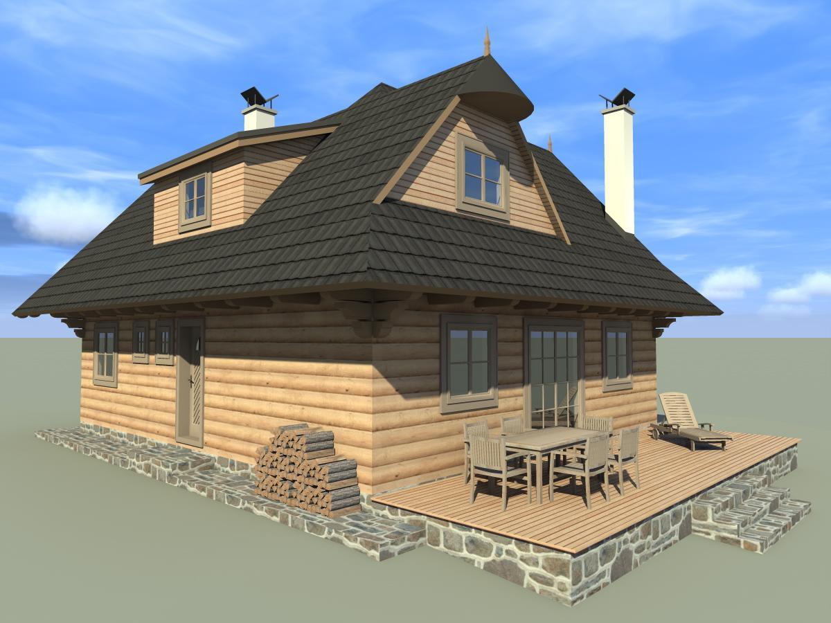 Náš veľký sen o drevenom domčeku! - Už sa tešíme na kávičku na terase!