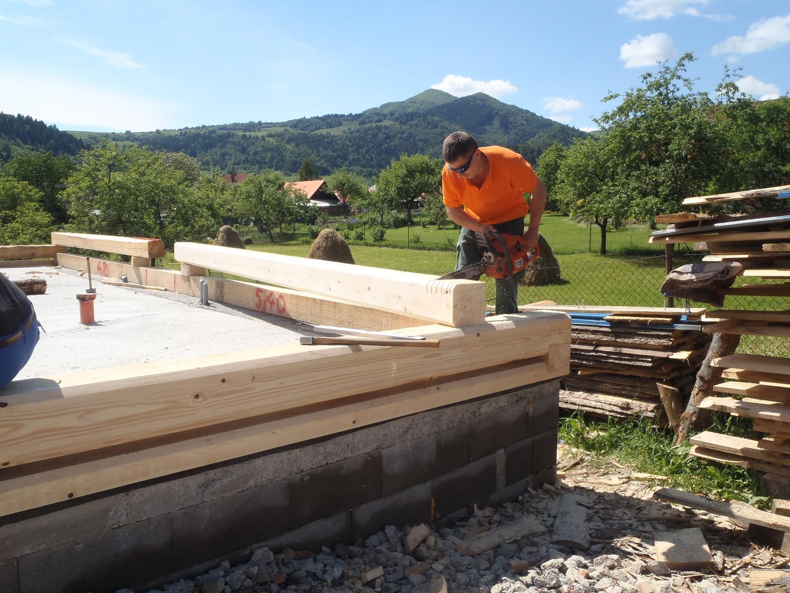 Náš veľký sen o drevenom domčeku! - Obrázok č. 36