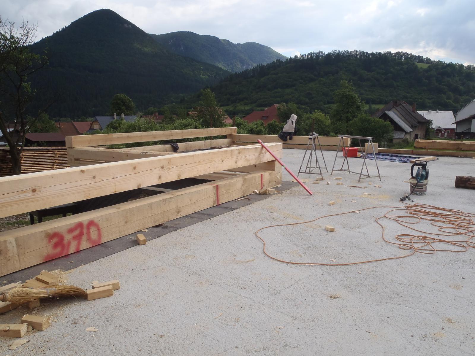Náš veľký sen o drevenom domčeku! - Obrázok č. 41