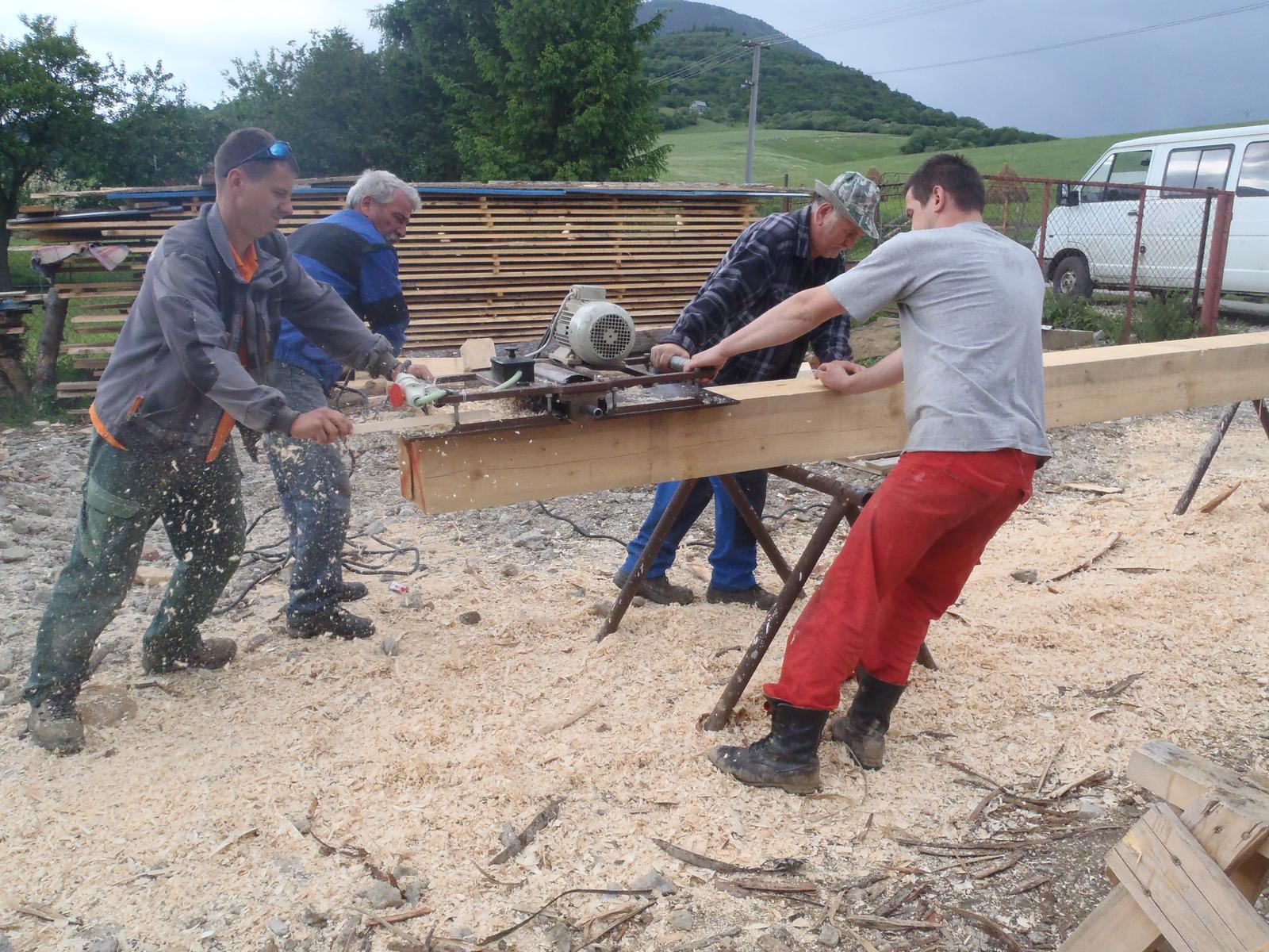 Náš veľký sen o drevenom domčeku! - Obrázok č. 46