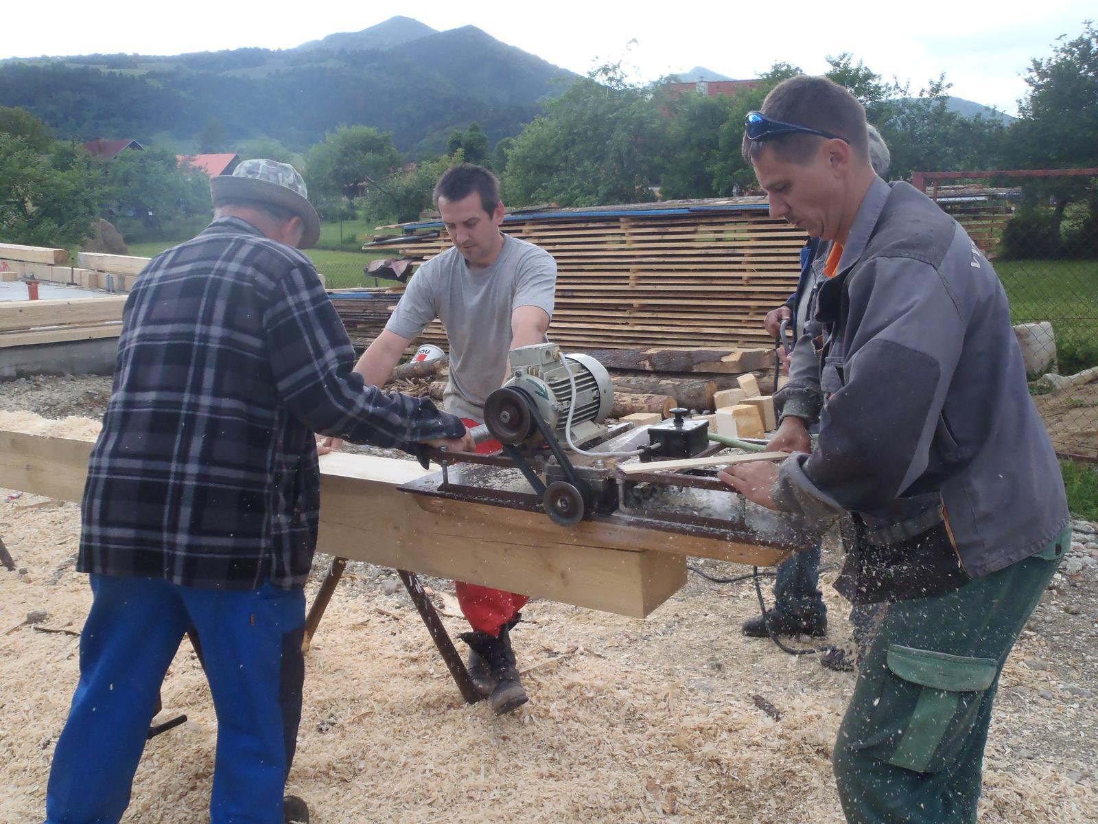 Náš veľký sen o drevenom domčeku! - Obrázok č. 47