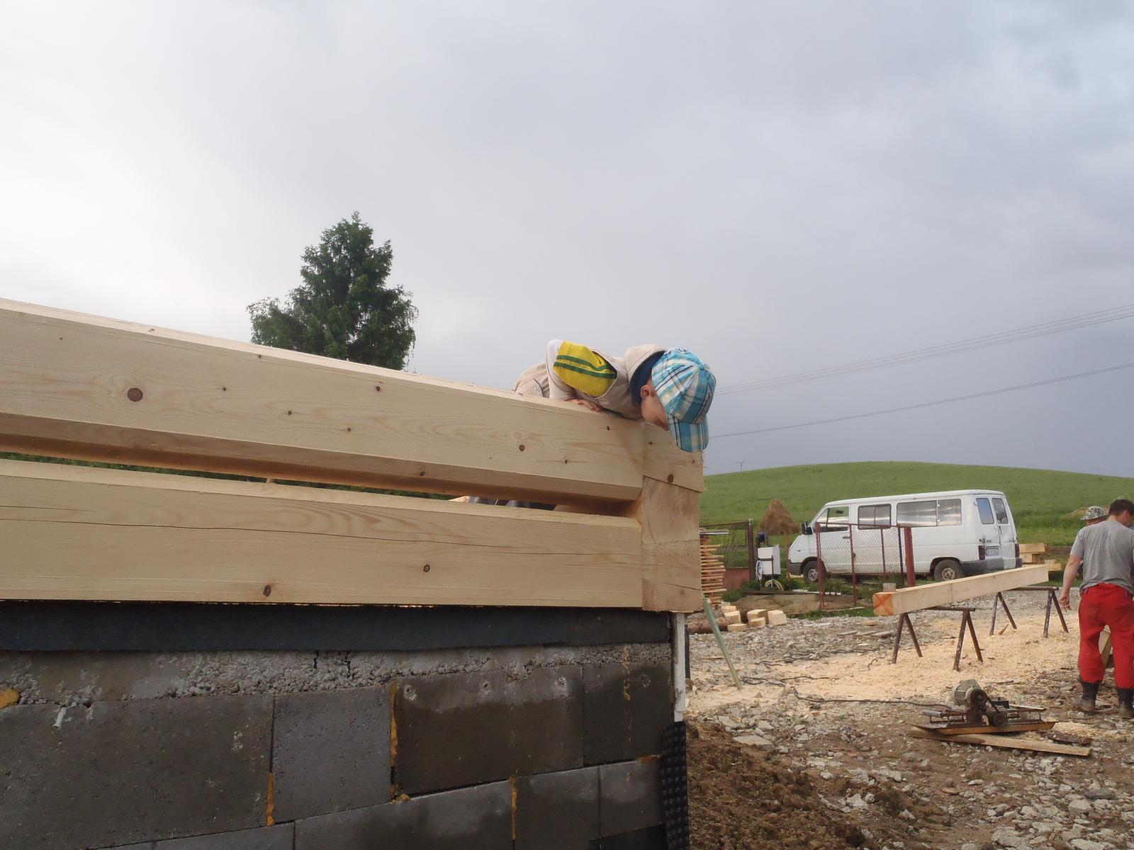 Náš veľký sen o drevenom domčeku! - Ešte kuknem či je dobre spoj :-D