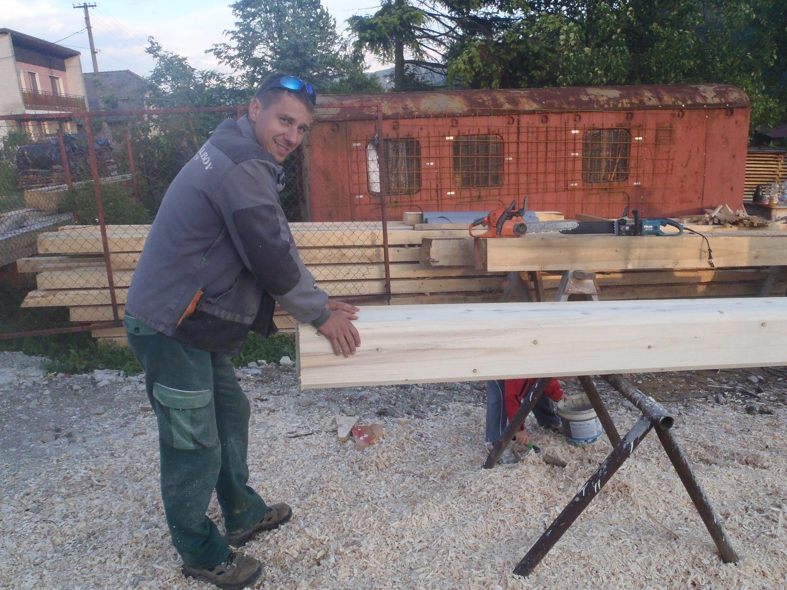 Náš veľký sen o drevenom domčeku! - Obrázok č. 54