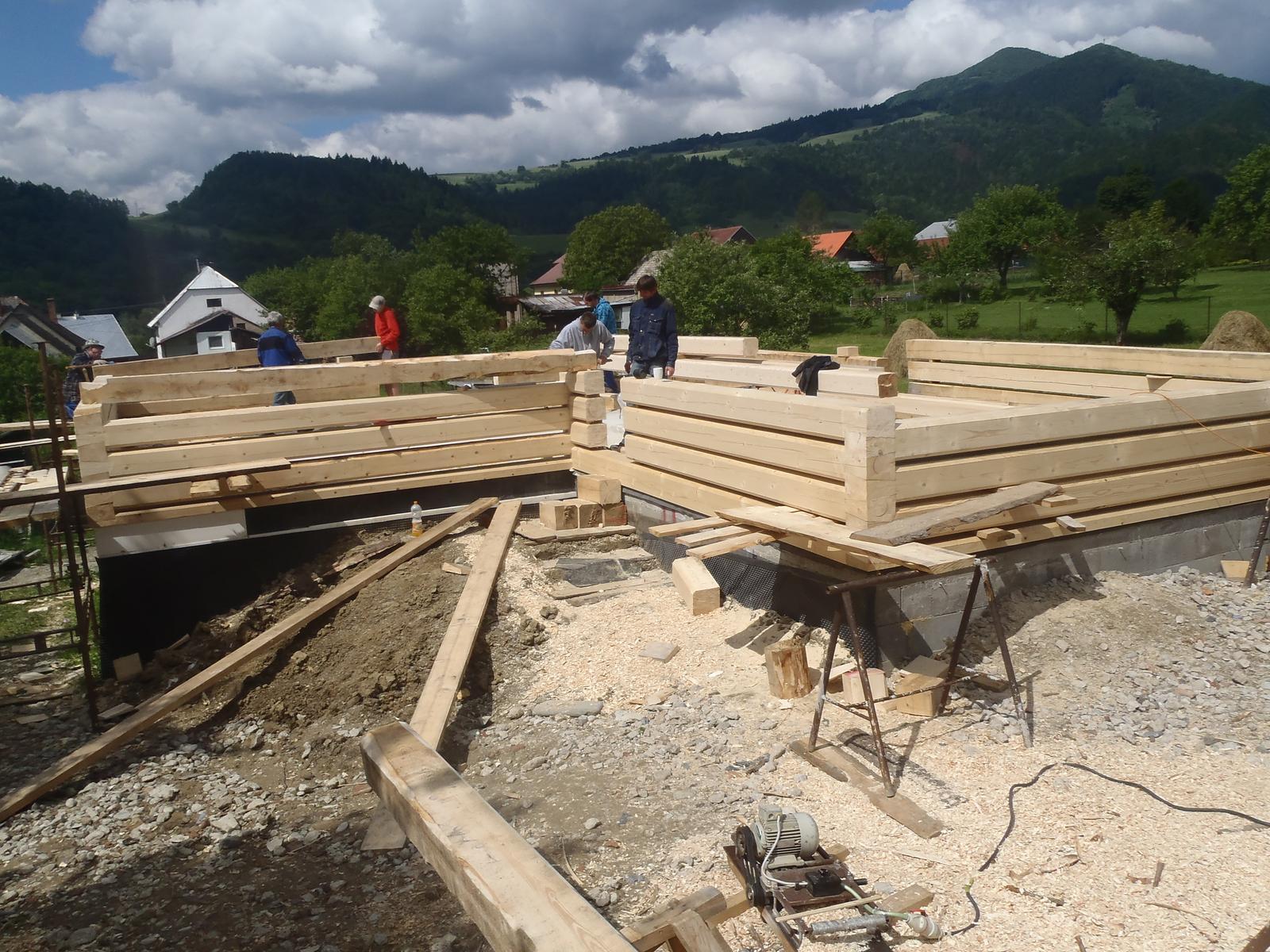 Náš veľký sen o drevenom domčeku! - Obrázok č. 63