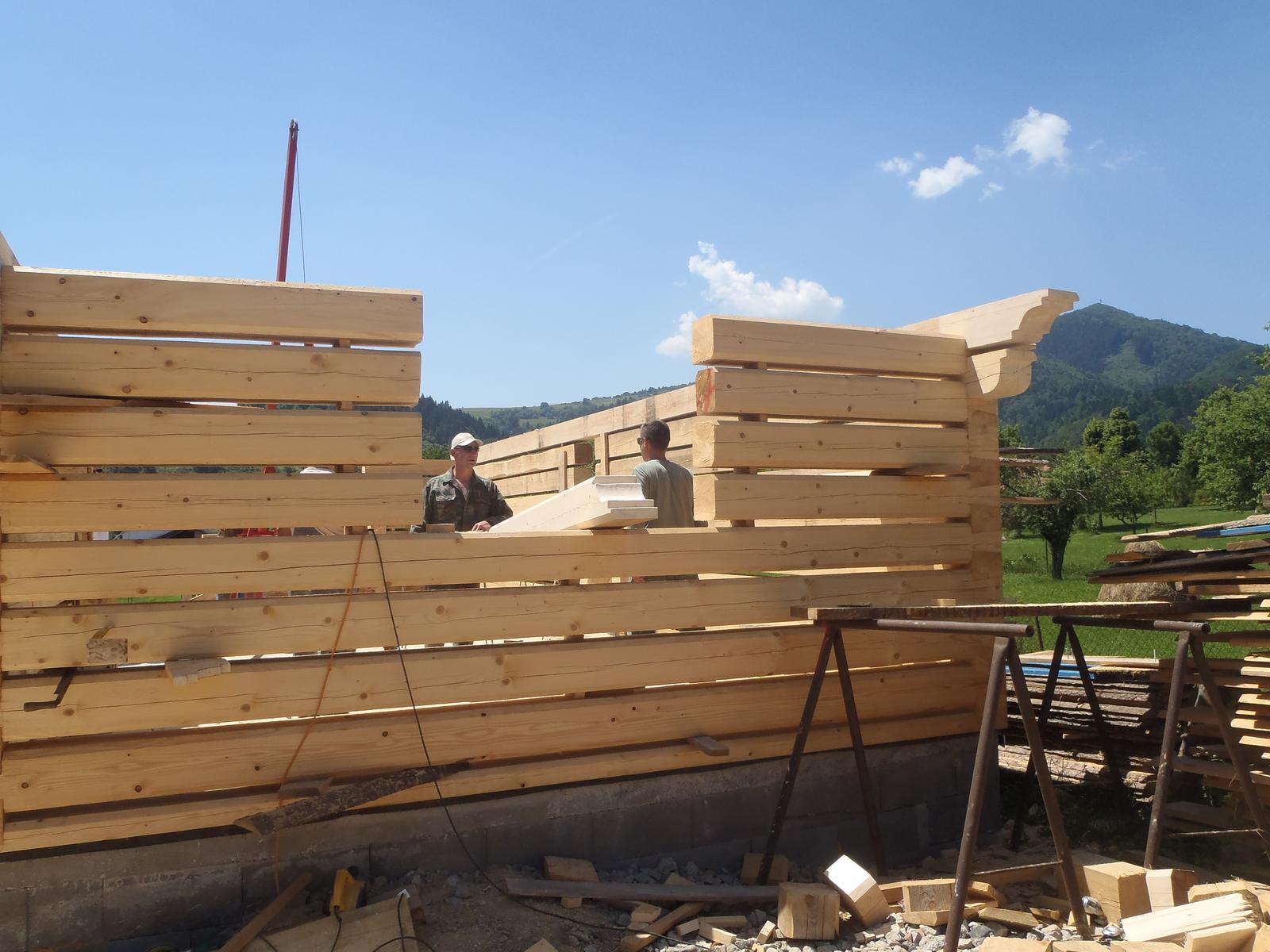 Náš veľký sen o drevenom domčeku! - Obrázok č. 79