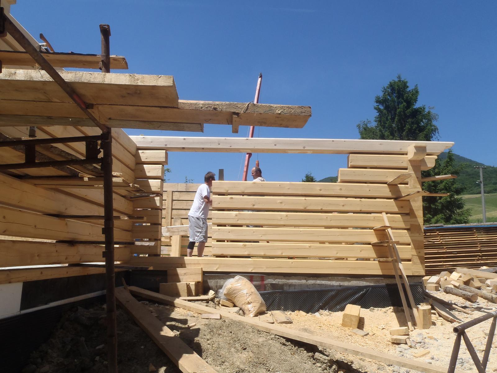 Náš veľký sen o drevenom domčeku! - Obrázok č. 81