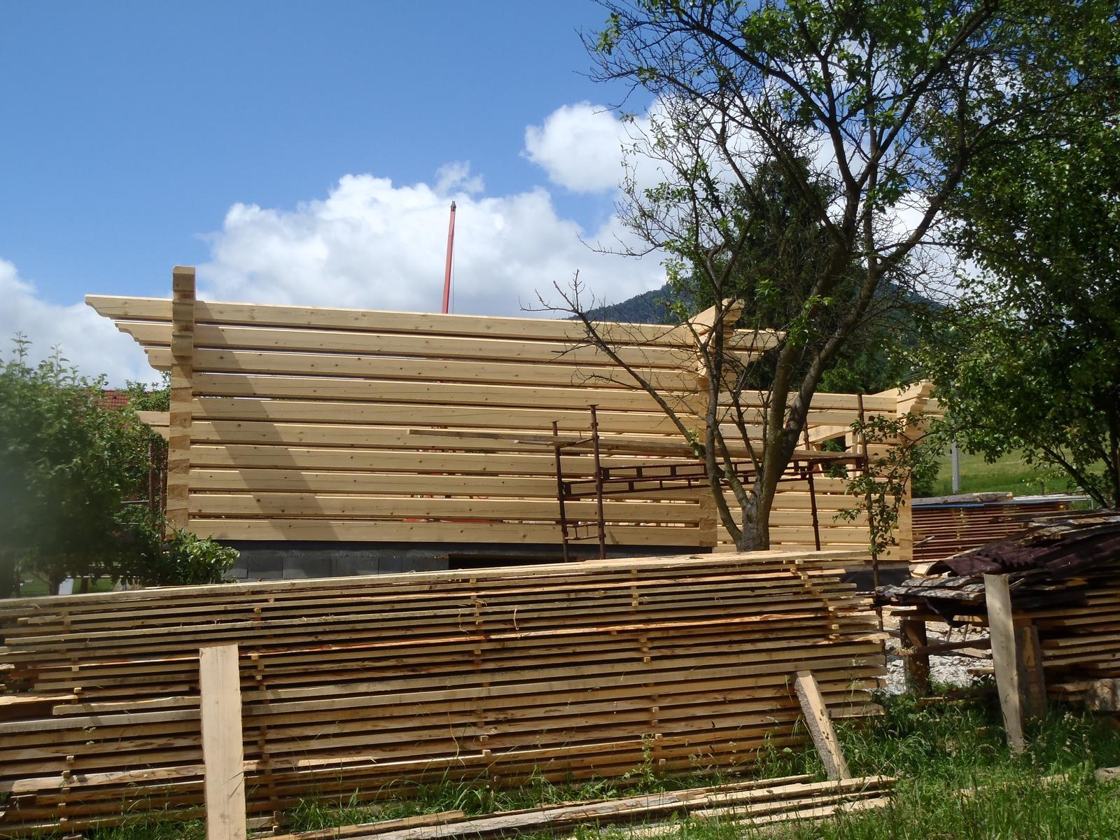 Náš veľký sen o drevenom domčeku! - Obrázok č. 91