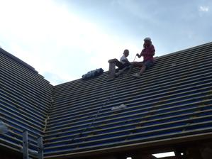 A kde inde sa hrá najlepšie, ako na streche :-D