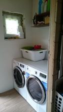 Ešte nedokončená práčovňa