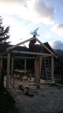 A staviame garáž