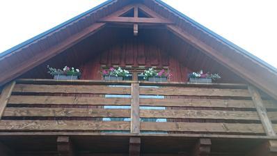 Balkóny hotové! Už len krásne drevené kvetináče treba 😊