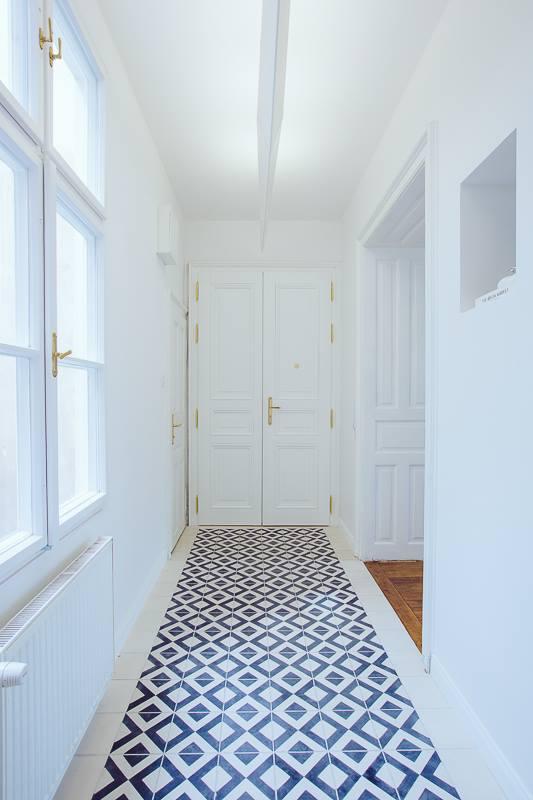 Naše dlaždičky u Vás doma - Kibo - foto od klientky z Bratislavy