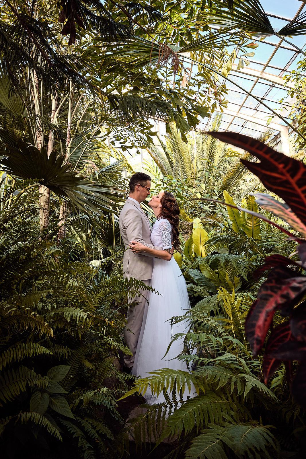 Svatební den 2. / Ivan & Danica - BOTANICKÁ ZAHRADA - Obrázek č. 1