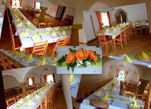 Tak tady bude hostina a večerní pááárty ;-)