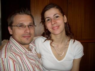 Lenka a Richard - naše prípravy - to len tak - my dvaja :)