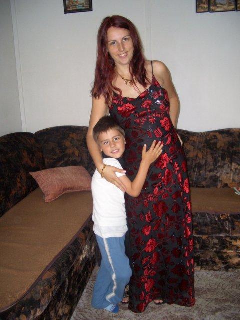 Lenka a Richard - naše prípravy - Moja tehotná sestra.... krása, však?