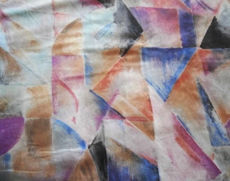 Závěs bavlněný vícebarevný - Obrázek č. 3