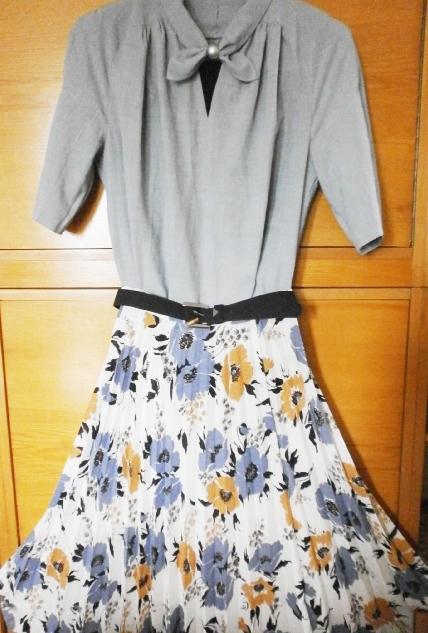 Plisovaná sukně v midi délce - Obrázek č. 3