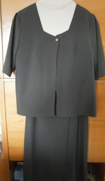 Kostýmek se zavinovací sukní - Obrázek č. 1