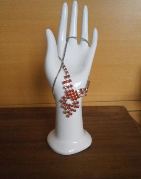 Jemný růžový náhrdelník - Obrázek č. 1