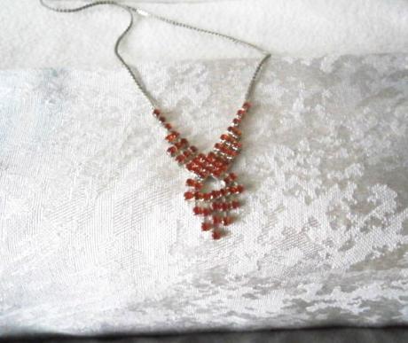 Jemný růžový náhrdelník - Obrázek č. 2