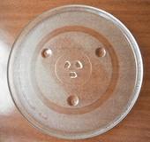 Skleněný talíř do mikrovlnky,