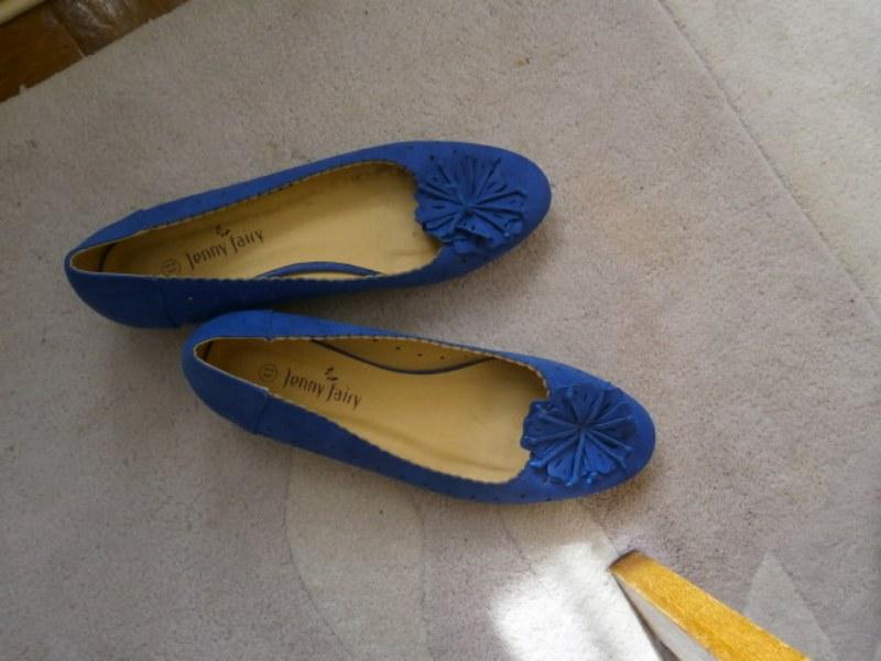 Lodičky modré Jenny fair - Obrázek č. 1