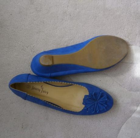 Lodičky modré Jenny fair - Obrázek č. 2