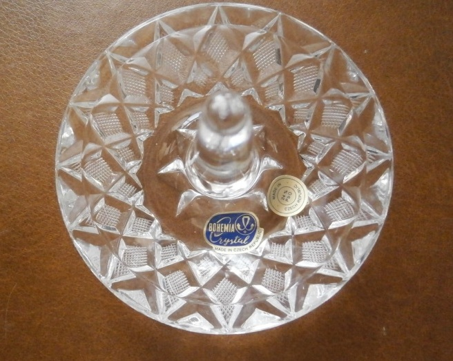 Křišťálová miska s trnem na prstýnky - Obrázek č. 1