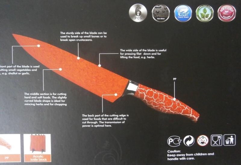 Nože v dárkové kazetě - Obrázek č. 3
