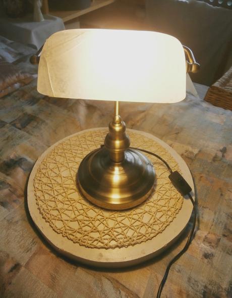 Retro lampa bankéřská - Obrázek č. 1