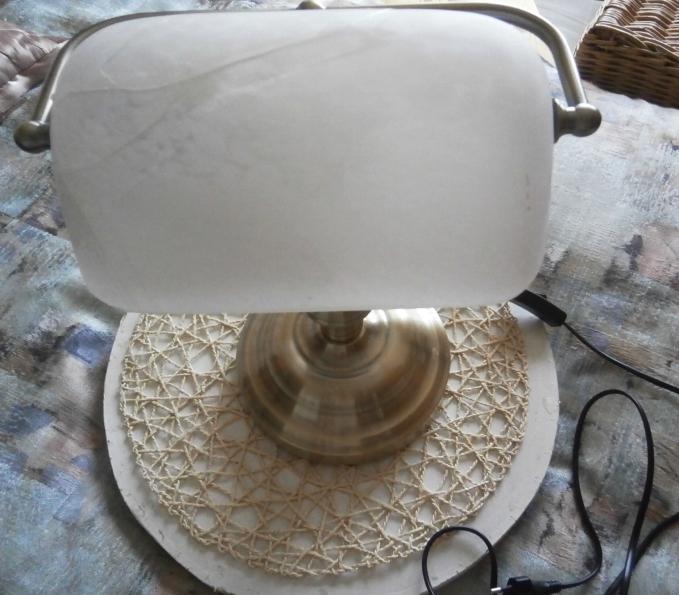 Retro lampa bankéřská - Obrázek č. 3