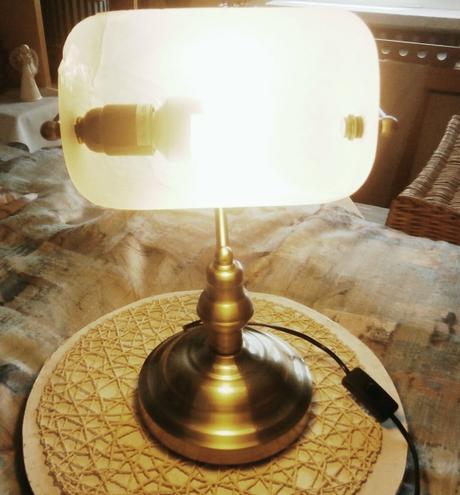 Retro lampa bankéřská - Obrázek č. 4