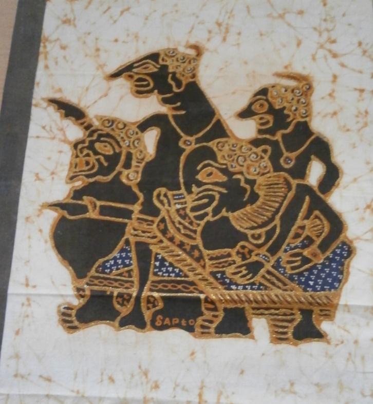 Obrázek s africkým motivem - Obrázek č. 1