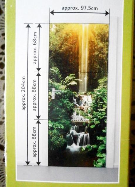 Tapeta na dveře vodopád - Obrázek č. 1