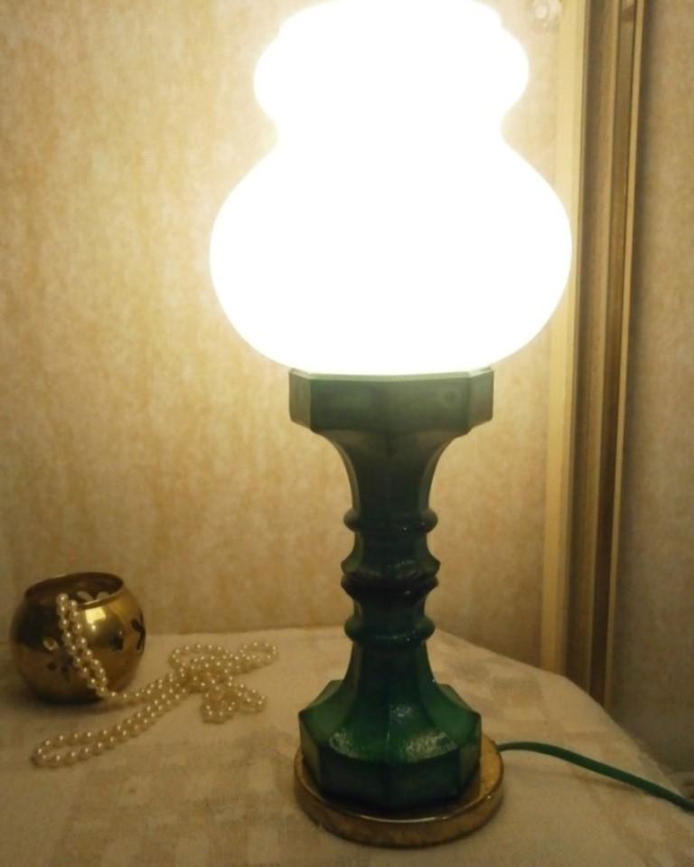 Starožitná stolní lampička - Obrázek č. 2