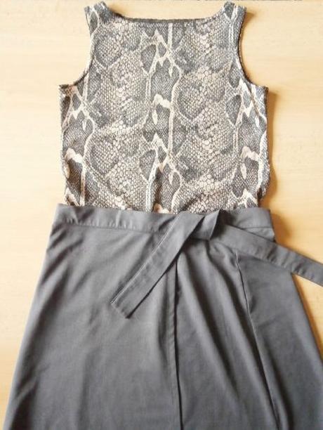 Mini sukně zavinovací - Obrázek č. 1