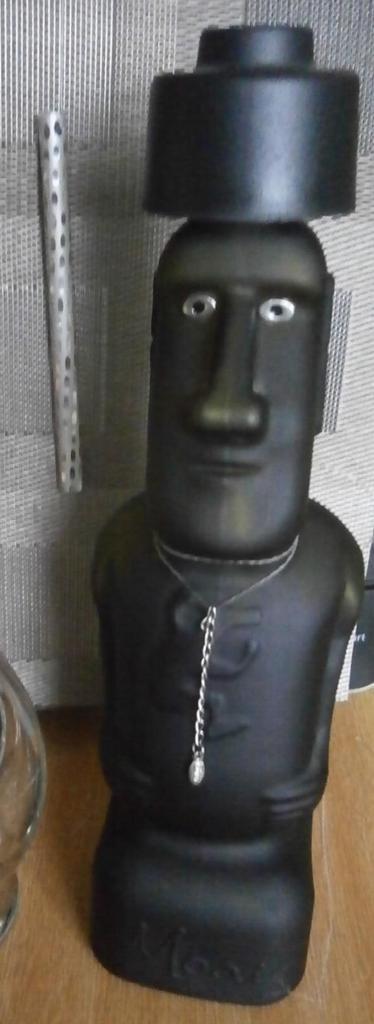 Láhev tvar sochy MOAI - Obrázek č. 1