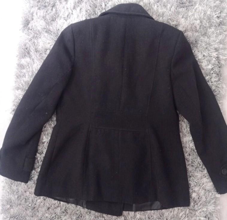 Dámský černý kabát - Obrázek č. 2