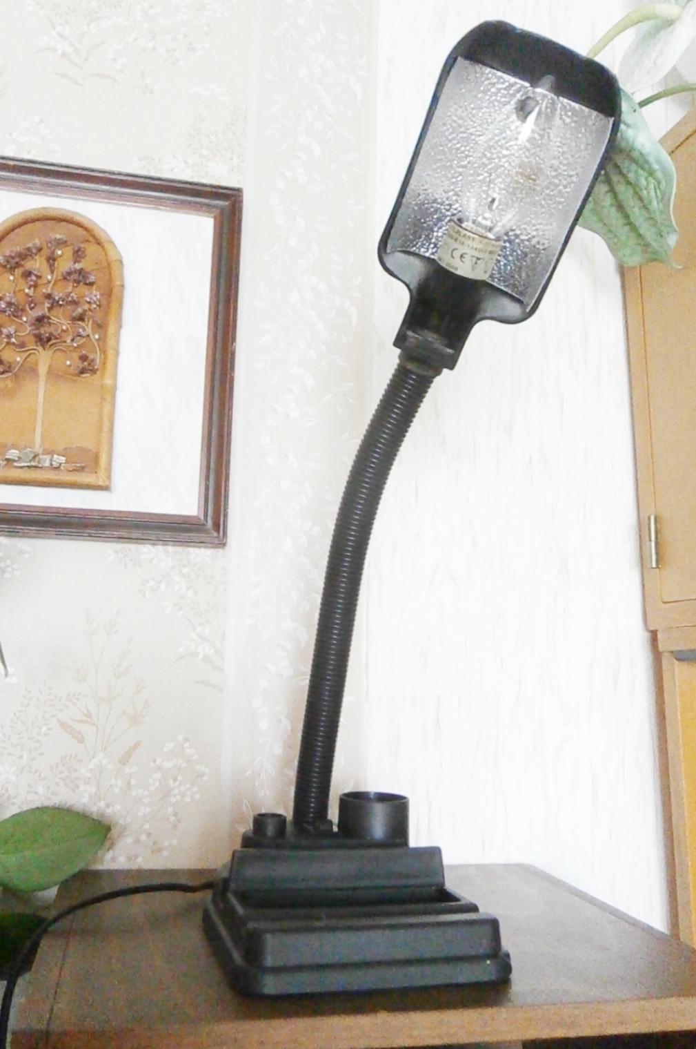 Lampa stolní černá - Obrázek č. 1