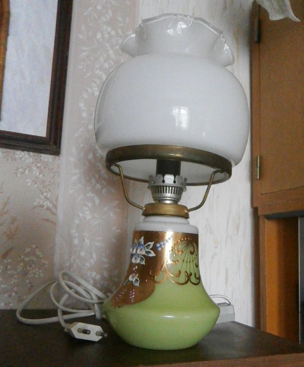 Retro lampa petrolejka - Obrázek č. 1