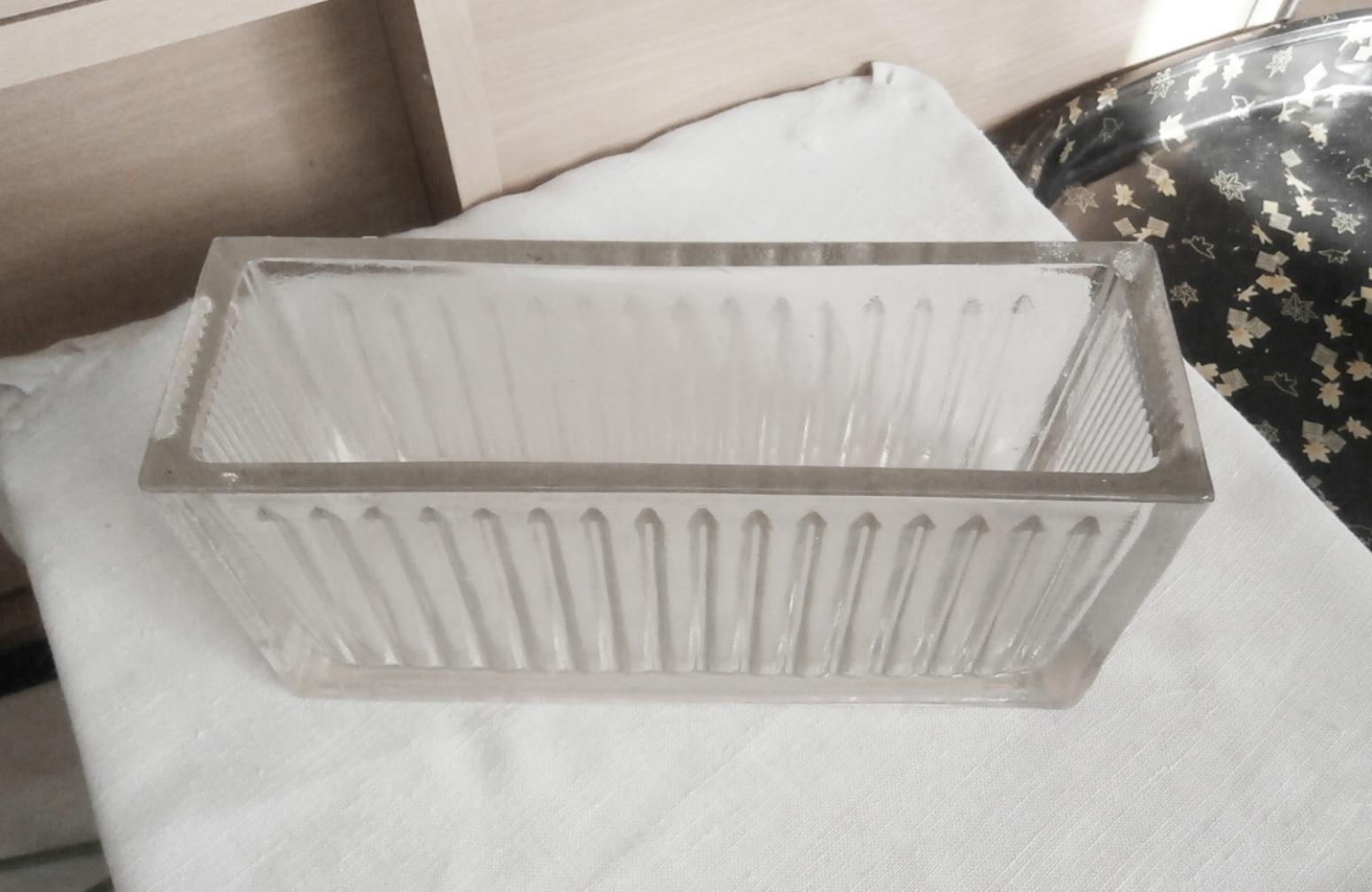 Žardinka z litého skla - Obrázek č. 1
