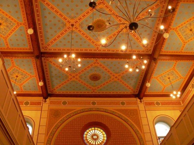 Z+R 15.8.2008 -přípravy - Synagoga zevnitř