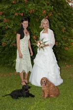 naši svatební pésci Bajka a Uffa