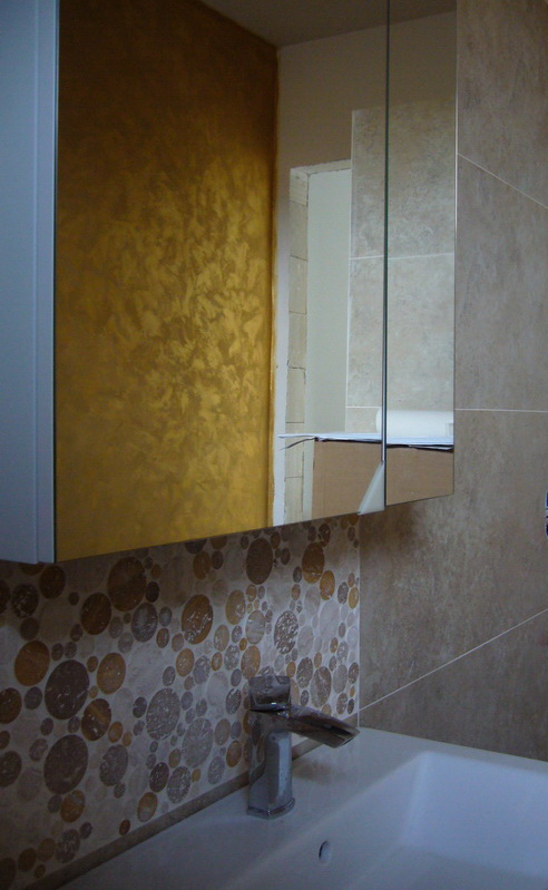 Dekorační stěrky a omítky - realizace - Marcopolo Luxury - Barvy San Marco