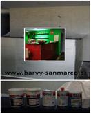 Dekorační omítky BARVY SAN MARCO, s.r.o.- restaurace Balaboosta, Brno